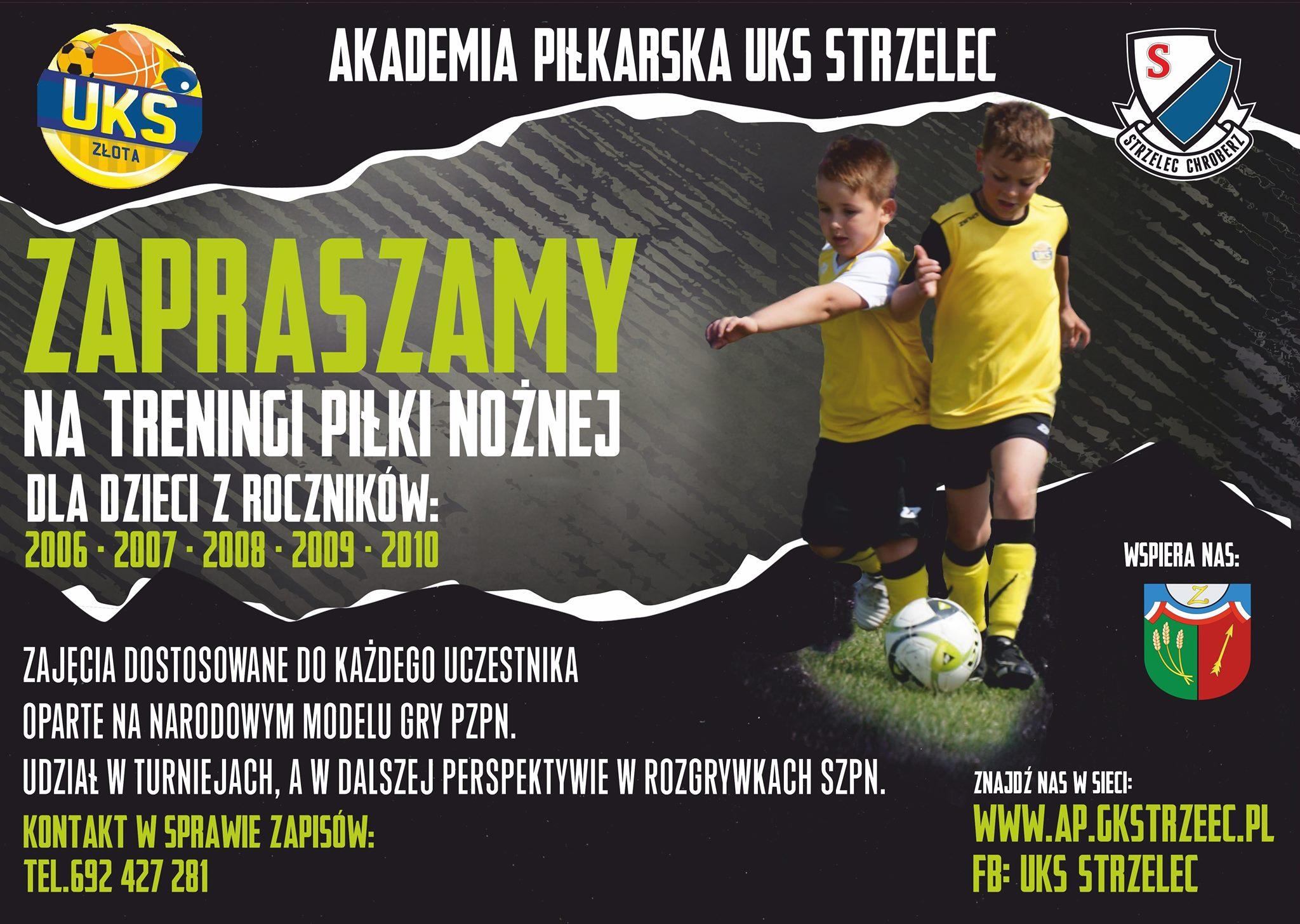 plakat Akademia Piłkarska