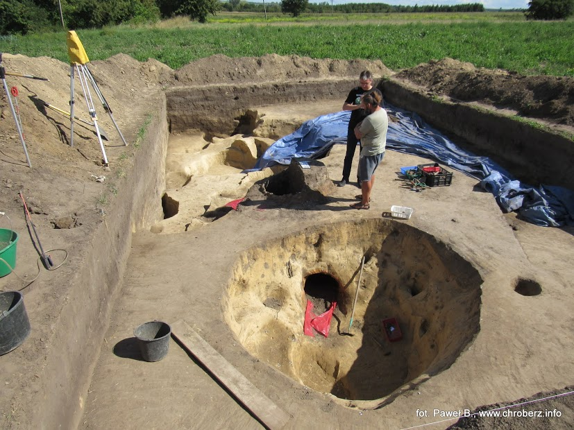 Badania archeologiczne wPełczyskach - wykopy