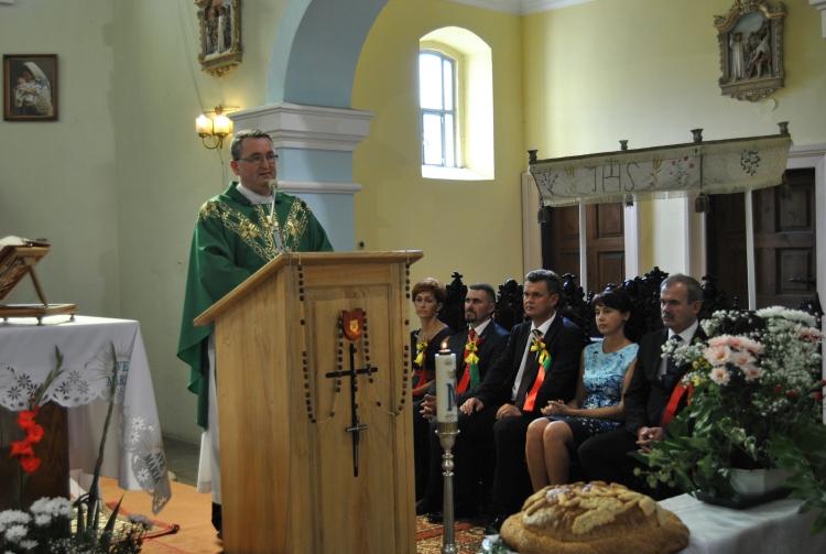 Ksiądz Borecki nowy proboszcz parafii Chroberz