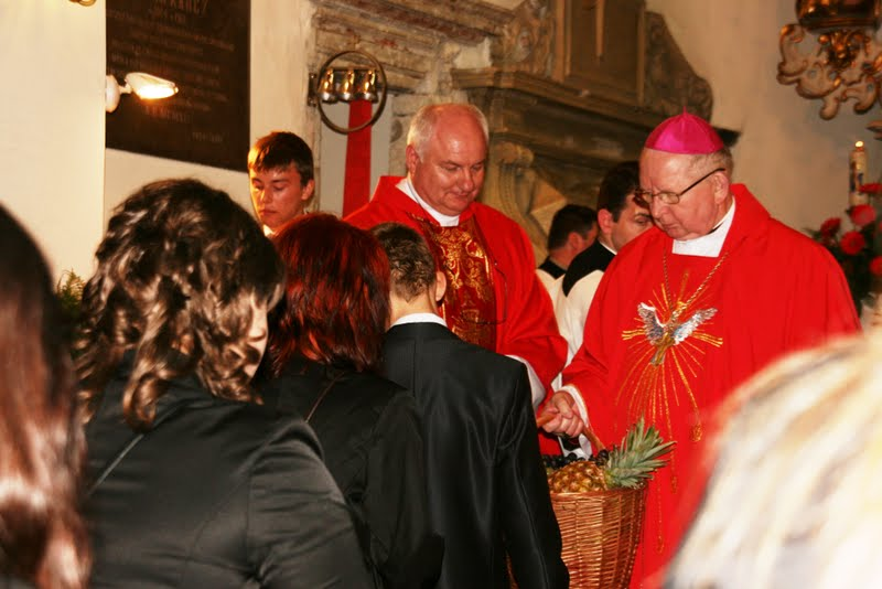 Biskup Kazimierz Ryczan wChrobrzu